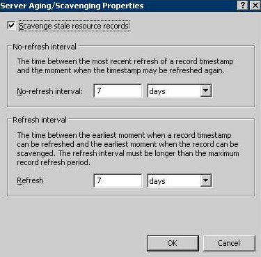 How to cleanup dns records in Windows server 2008