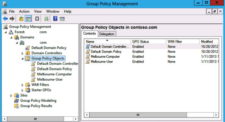 How to reduce group policy problems