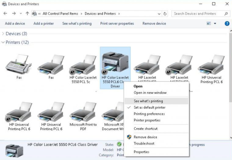 print spooler windows 10