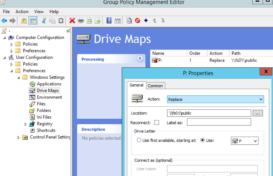 Mapped Network Drives issue in Windows 10 version 1809