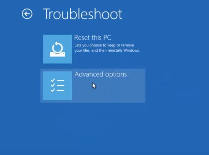 enter safe mode in windows 10