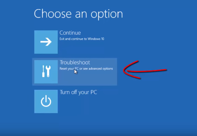 How to enter the safe mode of Windows 10