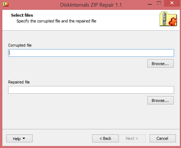 How to extract files from corrupted zip archives