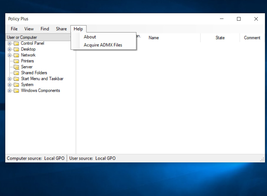 installing group policies in Windows 10 Home