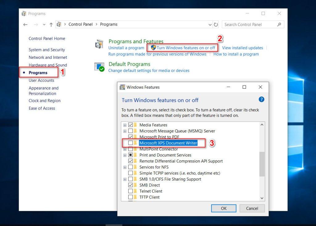 Cách Thêm / Xóa Ứng Dụng XPS Viewer Trong Windows 10 - VERA STAR