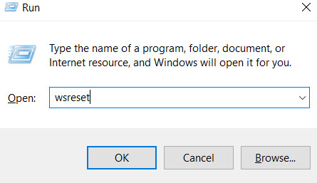 Store does not work in Windows 10