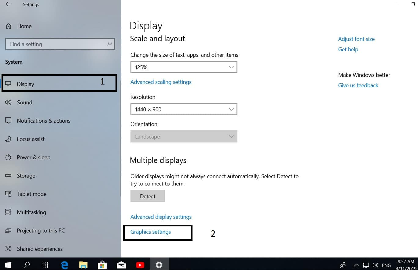 How to choose a different GPU for different applications in Windows 10