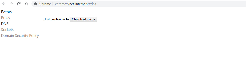Fix ERR_EMPTY_RESPONSE error in Chrome or Yandex