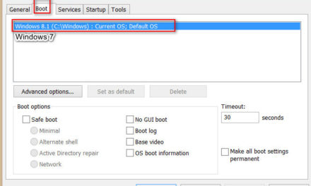 How to remove the choice of loading the operating system in Windows 10/7/8