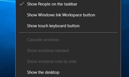 How to remove the taskbar in Windows 10