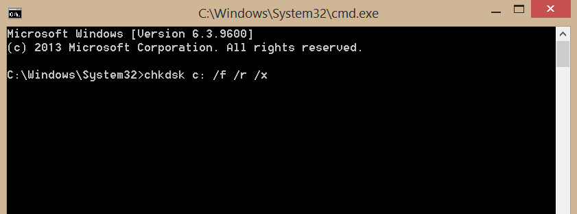 How to Scan & Fix Hard Drives with CHKDSK in Windows 7/8/10