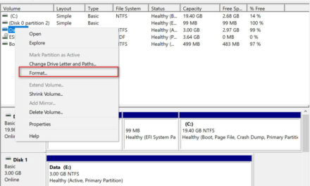 How to format a hard disk