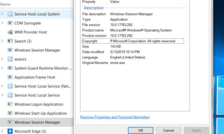 smss.exe – What is this process in Windows 10