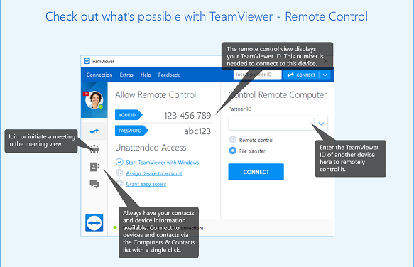 How to download and install Teamviewer program.