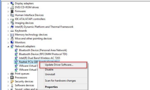 Fix rtwlane.sys Blue Screen Error in Windows 10