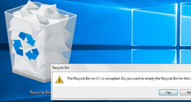 How to fix a corrupted Recycle bin in Windows 10