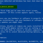 THREAD_STUCK_IN_DEVICE_DRIVER 0x000000EA BSOD Error