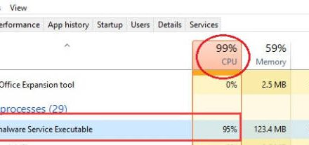 How to limit Windows Defender CPU usage on Windows 10