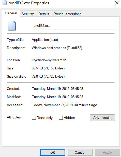 What is rundll32.exe