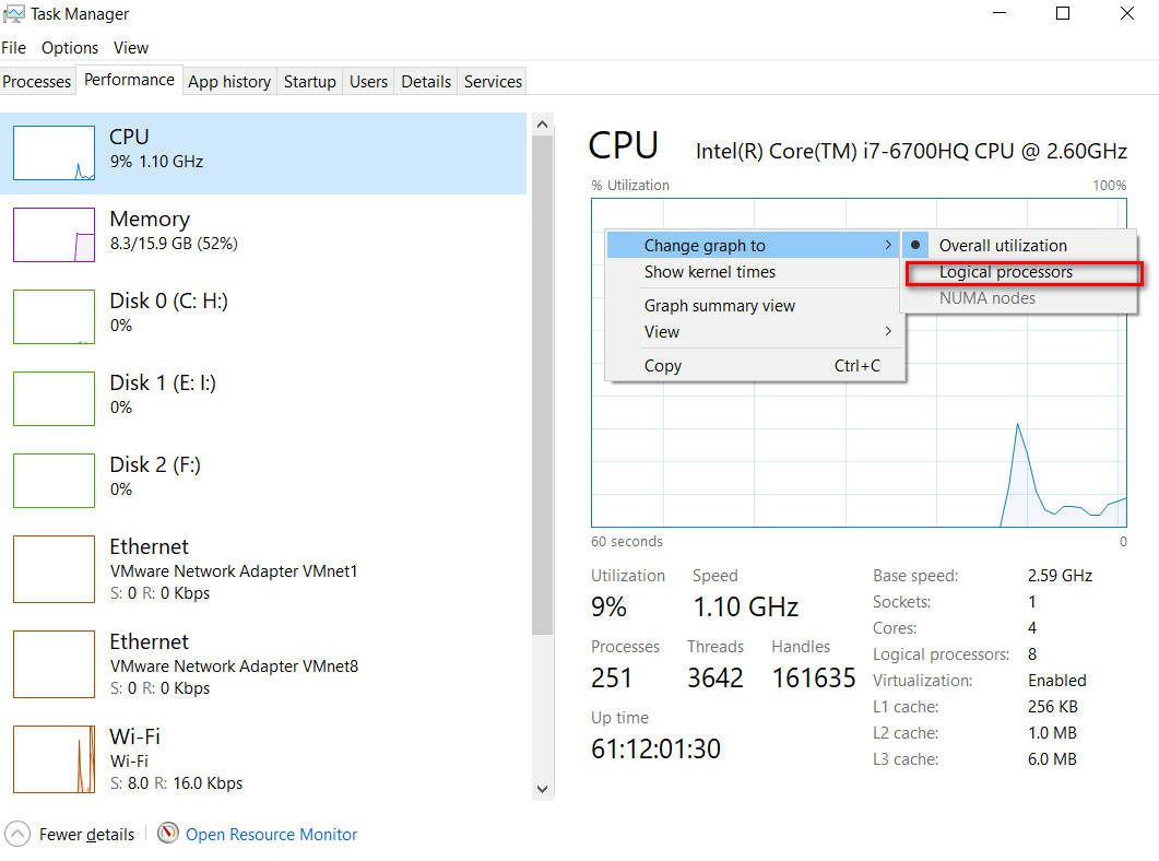 enable all processor cores in Windows 10