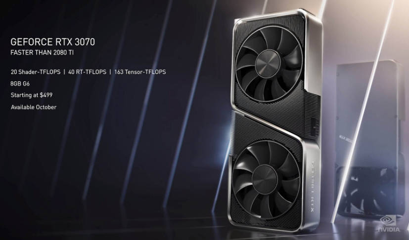 new rtx 3070 videocards