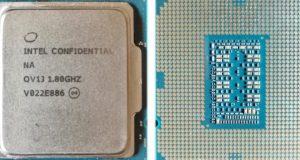 Intel Rocket Lake-S engineering sample
